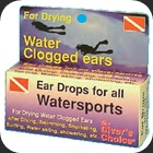 Ear drops, fluid, lubricants and glue