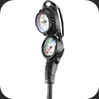 Cressi Consol PD2 with pressure and depth gauge