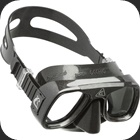 Low volume mask for Freediving or Scuba diving