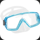 Mask for Snorkeling and Diving, ideal for dive schools