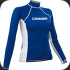 Rash Guard to protect against sunburns and stingers in the water