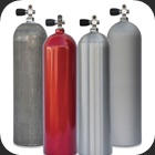 Tanks or cylinders in size 80 cuft