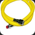 Regulator hose for octopus 40 inch length