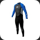 Wetsuit 3mm body and 2mm in arms and legs