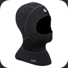 Hood with bid made from 3/5mm top quality neoprene