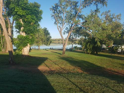 Garden of the Lakeside Resort Kununurra
