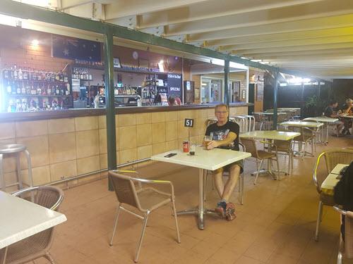 Samson Beach Tavern for dinner