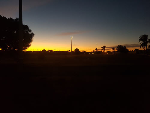 Sunrise in Carnavon