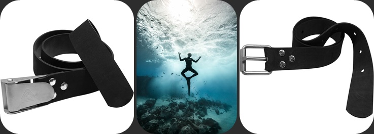 Freediving weight belt page