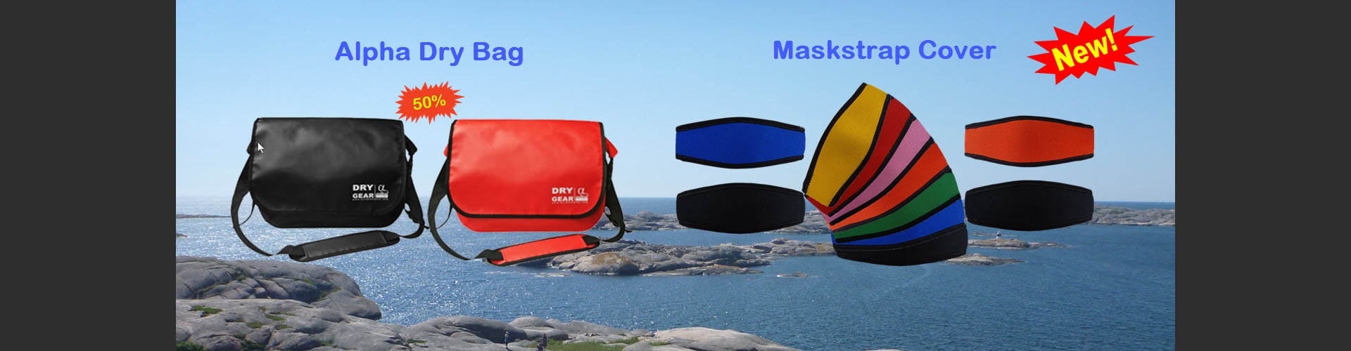 Alpha Bag and Maskstrap Cover