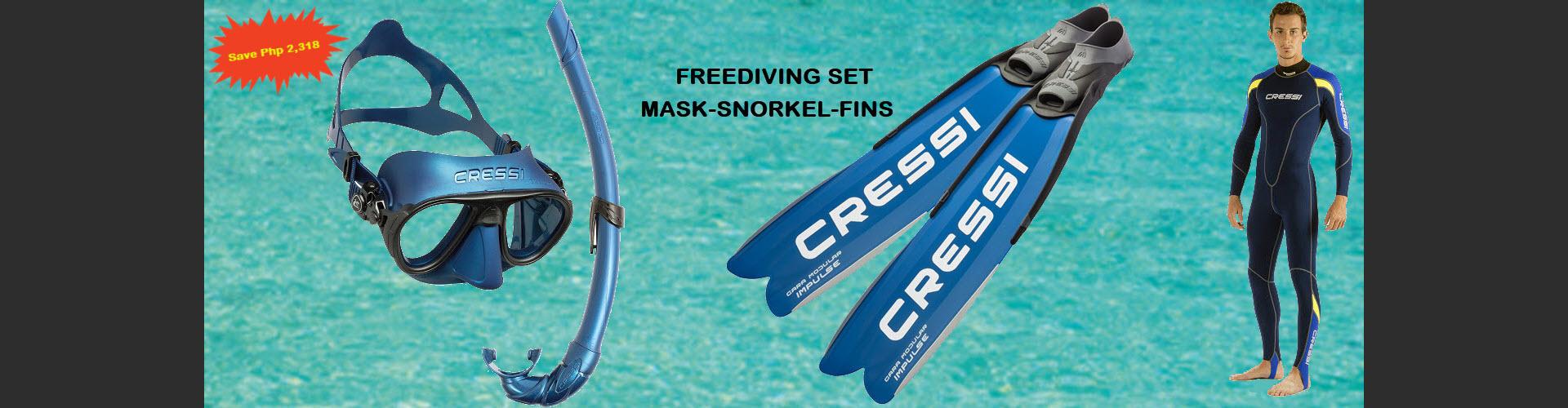 Freediving complete set